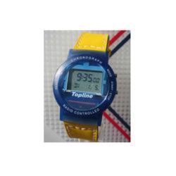 Funkarmbanduhr mit Kautschuk-Armband GELB
