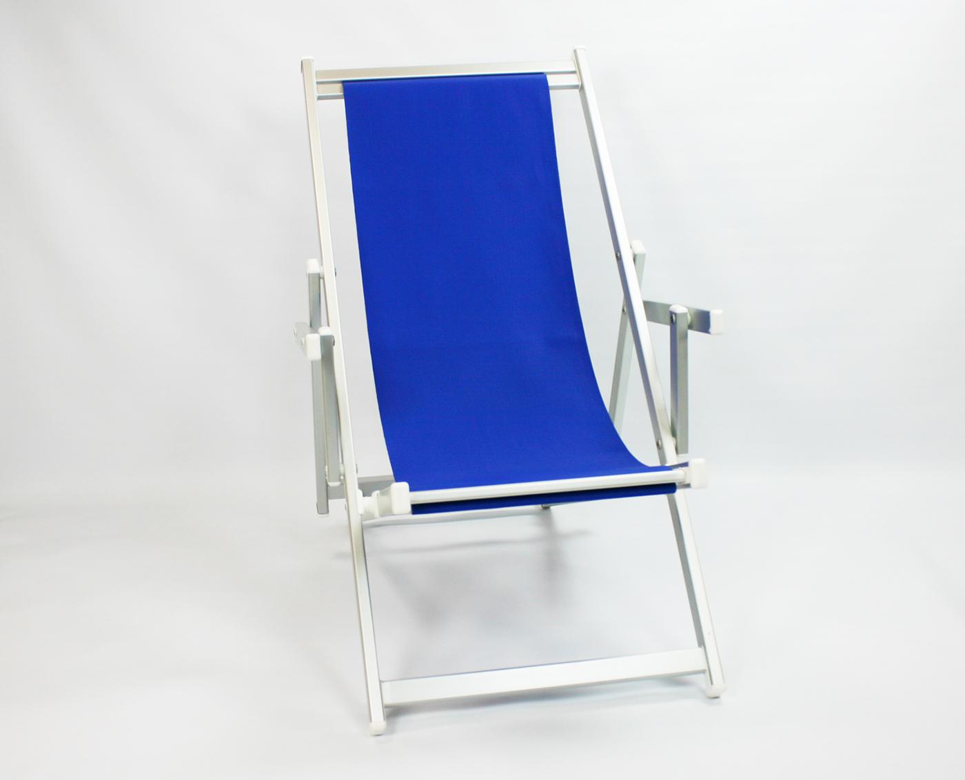 Liegestuhl BLAU – Garten und Terrassenmöbel – FILMA-V