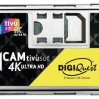 Tivusat HD Smarcam CI+ 4K mit Tivusat Karte