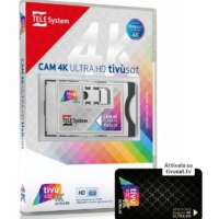 Tivusat HD Smarcam 4K Ultra HD mit Tivusat Karte aktiviert