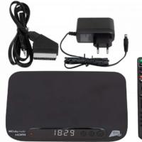 XORO HRS 8830 HD SAT-Receiver mit aktivierter TIVÙSAT Karte